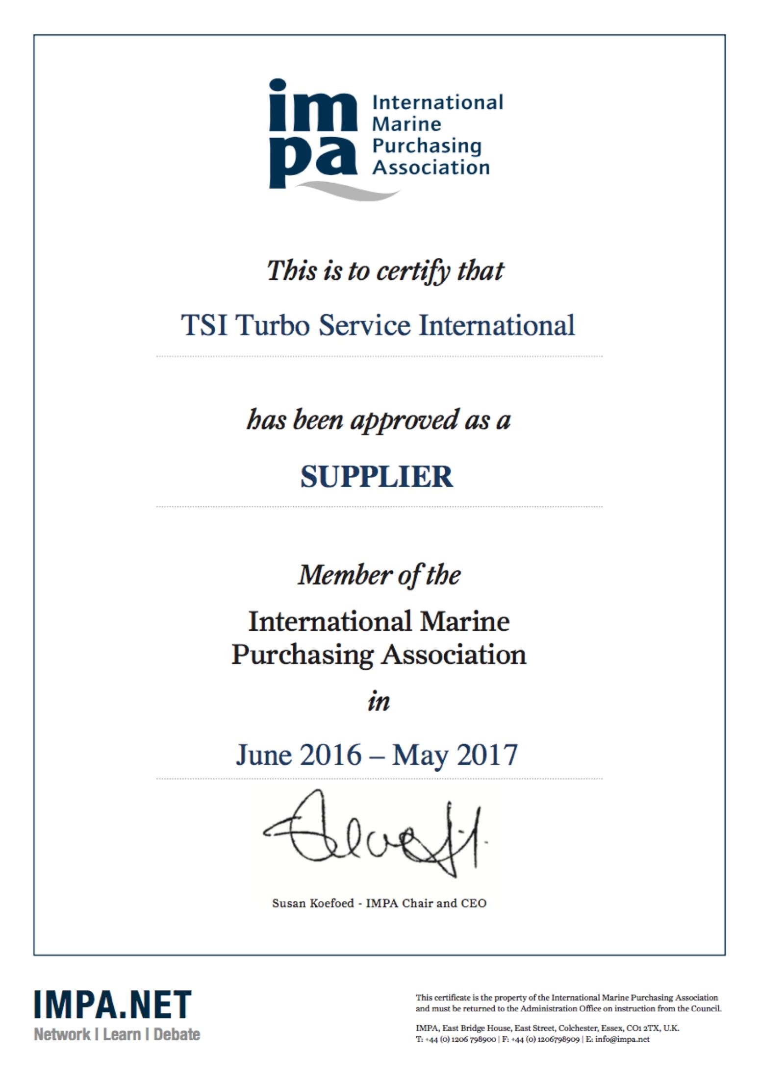 impa-membership-certificate