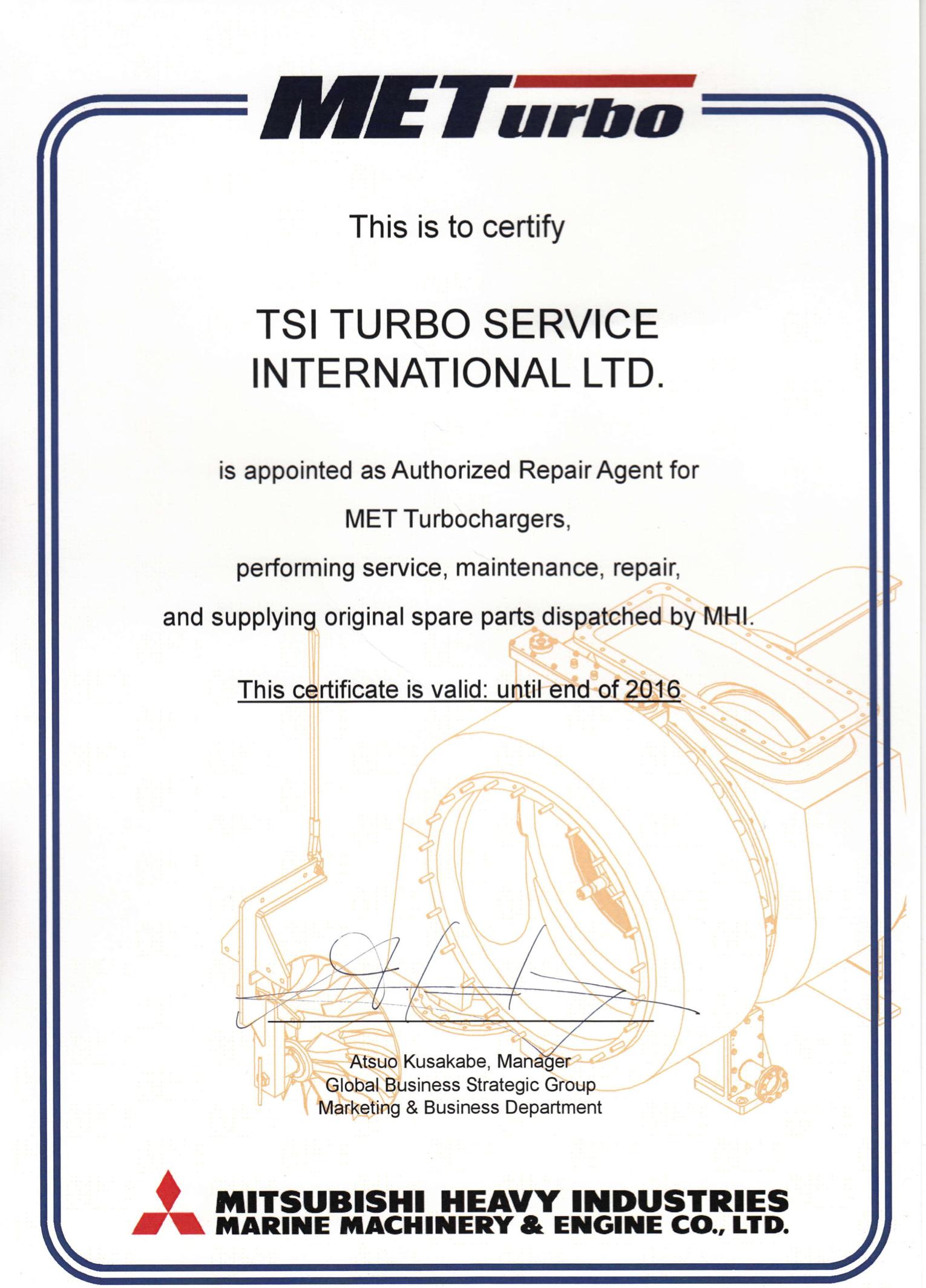 met-certificate